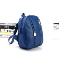 Tas Blue Import Korea Ransel Bag Pack Fashion Cantik Kuliah Anak