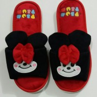 harga Sandal Sendal Kamar Tidur Rumah Dewasa Disney Tsum Tsum Minnie Mouse Tokopedia.com