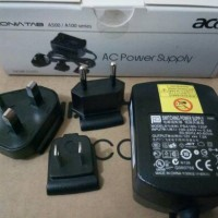 adaptor charger 12v 1,5a acer iconia tab original