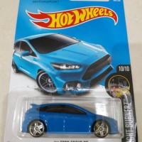 Hotwheels Hot Wheels FORZA 16 Ford Focus RS biru