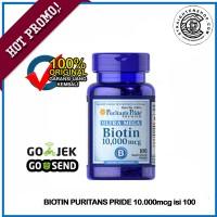 Puritans Pride Premium Ultra Mega Biotin 10.000mcg isi 100 softgell
