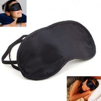 Black Eye Mask Shade Cover Blinder Blindfold For Travel Sleeping