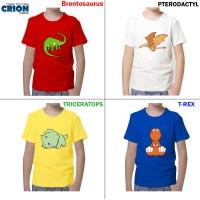 harga Kaos Dinosaurus Lucu Anak Dengan Berbagai Pilihan By Crion Tokopedia.com
