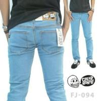 celana jeans cheapmonday pria big size 33-38