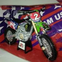 Mainan anak motor tril motocross Kawasaki