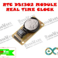 RTC DS1302 + Baterai CR2032 Real Time Clock DS 1302 DS-1302 Arduino