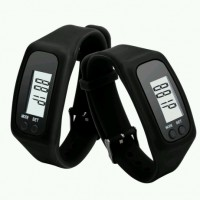 Gelang Sport Pedometer Calorie Wristband LCD