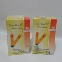 Jual Refil Strip Easy Touch Cek Asam Urat isi 25 strip/box Murah
