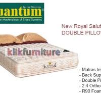 New Royal Salute (kasur 160x200cm) DOUBLE PILLOWTOP Quantum