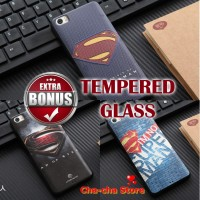 Softcase Superman Tpu Rubber 3d Superhero Soft Back Case Xiaomi Mi5