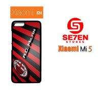 Casing Xiaomi Mi5 AC Milan Wide Custom Hard Case Cover