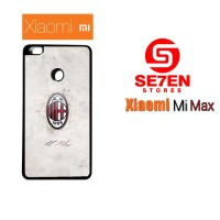 Casing Xiaomi Mi Max AC Milan Football Club Logo Custom Hard Case Cove