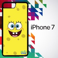 Sponge Bob Square Pants smile face 0127 Casing for iPhone 7 Hardcase 2