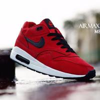 Sepatu Nike Air Murah Max One Merah List Hitam Size 40-44