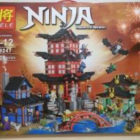 Jual Lego Lele 79247 NinjaGo - Masters of Spinjitzu ( Temple of Airjitzu ) Murah