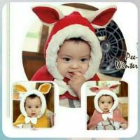 Jual Topi anak bayi/ Topi kelinci/ Topi rajut/ Baby cape/ Jaket anak bayi Murah