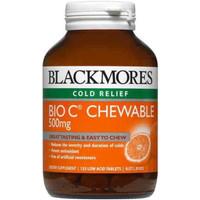 Jual Blackmores Bio C Chewable 500 mg 125 tab Murah
