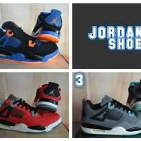 Jual Sepatu basket jordan cowok cewek / basket sport trendy Murah