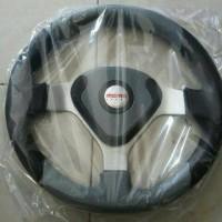 Steer / Stir Racing Momo Evo / Datar 14 Inch Universal Abu Hitam