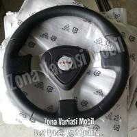 Steer / Stir Racing Momo Evo / Datar 14 Inch Universal Hitam Black