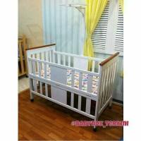 Baby box. Box bayi. Tempat tidur bayi model minimalis