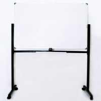 SAKANA Papan Whiteboard Magnetic 90 X 180 + Stand Double Face