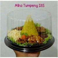 Jual Mika Tumpeng Mini D15/ Mika Kue Tart/ Box Tumpeng/ Mika Bolu Bulat Murah