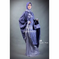 Mukenah Ponco Makinayu Purple Plum Limited