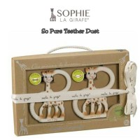 Sophoe the Teether - So Pure Sophie the Giraffe Teething Ring Duet