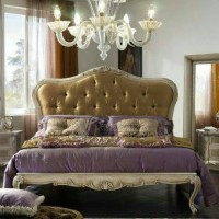 set tempat tidur klasik ( furniture, dipan, ranjang, sofa bed, nakas )