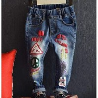 JEANS GUESS MAN | CELANA JEANS ANAK | JEANS RIPPED IMPORT