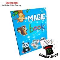Magic Coloring Book | Alat Sulap | Buku Sulap | Pemula | Dimen Shop