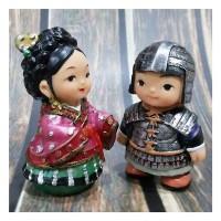 PAJANGAN BONEKA PENGANTIN KOREA KECIL SEPASANG D (904005027D)