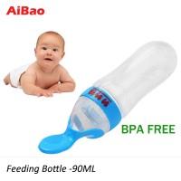 Feeding bottle botol Botol Sendok Makan Bayi/Soft Squeeze Feeder