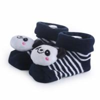 Kaos Kaki Bayi Rattle Boneka Gerber dengan Anti Slip - Cute & Nyaman