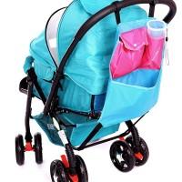 Tas Perlengkapan Bayi Stroller Bag Trolly Trolley Kereta Dorong Pamper