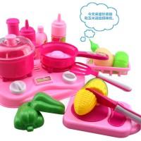 Large Kitchen Set Toys Alat Masak Mainan