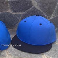 TERBATAS topi snapback hiphop polos harga grosir biru hitam dan hitam