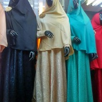 Best Quality Set Gamis Zahra Collection @360.000