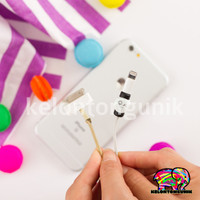 TERMURAH EMOTICON Cable Saver/ Cable Protector/ Lightning Saver/ Pelin