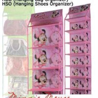 HSO / hanging shoes organizer karakter