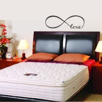 Wall Sticker Love Bed Quote Couple Dekorasi Stiker Dinding Kamar Tidur