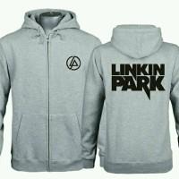 Jaket Sweater Hoodie Zipper Linkin Park Full Abu Misty