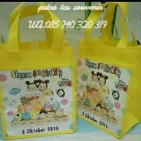 Jual Goodie bag tas souvenir ulangtahun/ultah anak model jinjing Murah
