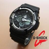 harga Casio G-shock Ga-200 (black Gray) Tokopedia.com