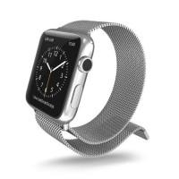 Wristband X-Doria Band Belt Jam Milanese Loop Silver Apple Watch 42mm