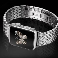 Wristband Stainless Steel Mesh Jam Strap Apple Watch Strap 42mm 38mm