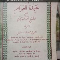 Terjemah Kitab Aqidatul Awam Bahasa Bugis