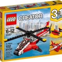 Lego Creator 31057 Air Blazer Helicopter Boat Sea Plane