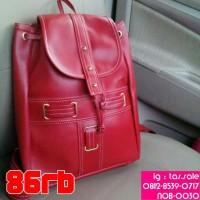 Tas Kulit Gemblok Merah untuk wanita / Cewe harga murah